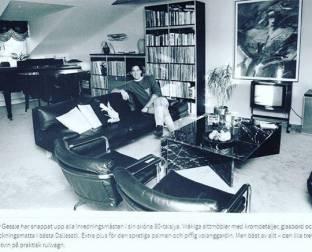 Старое фото Пера Гессле