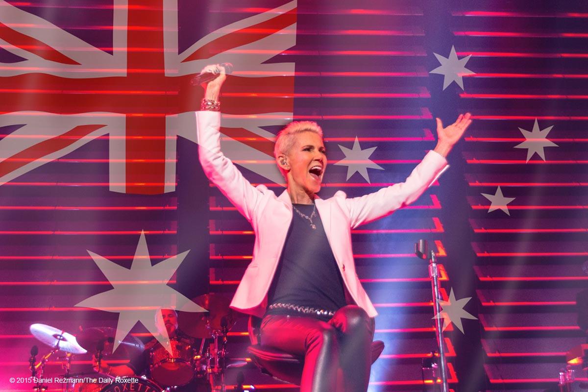 Завершение австралийской части Мирового турне