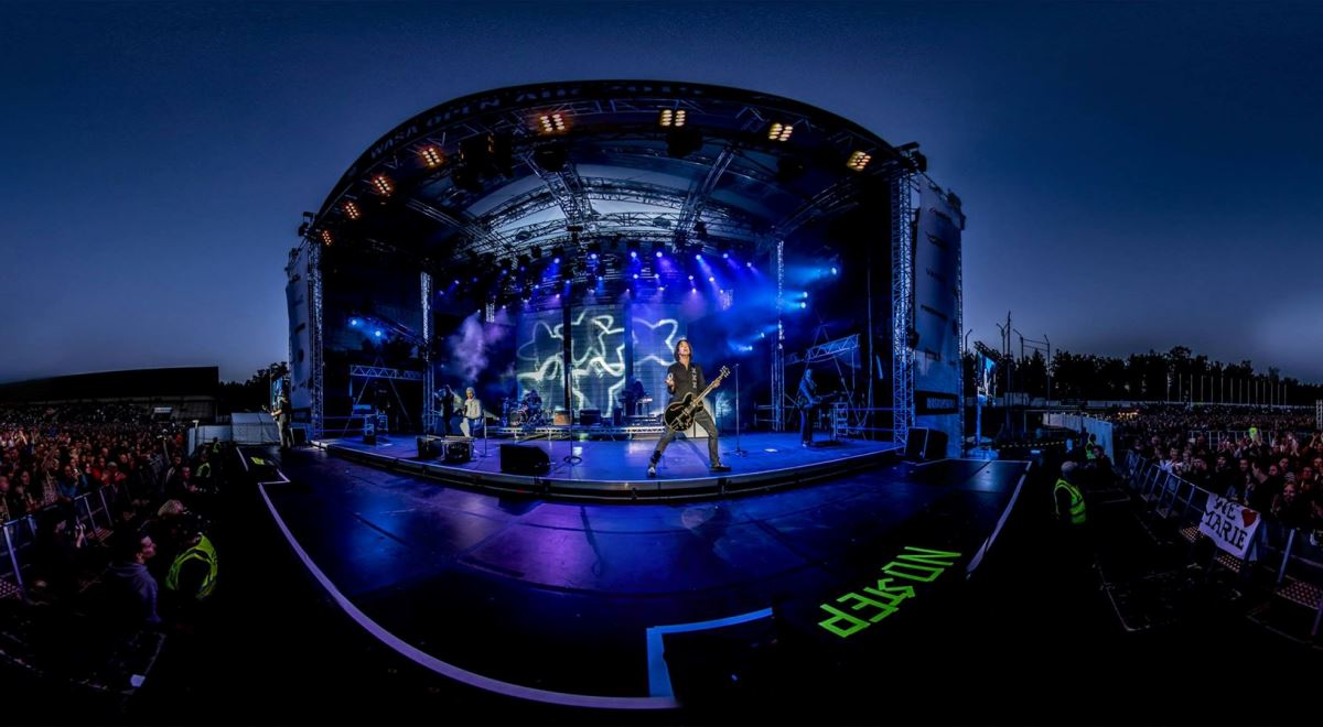 Roxette на фестивале Wasa Open Air 2015