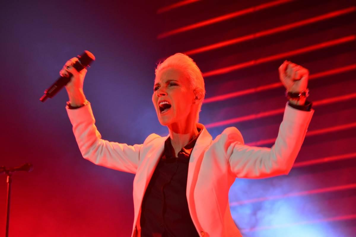 Концерт Roxette в Аделаиде, Австралия