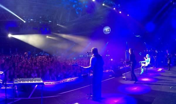 Выступление Roxette в Стокгольме для Tele2